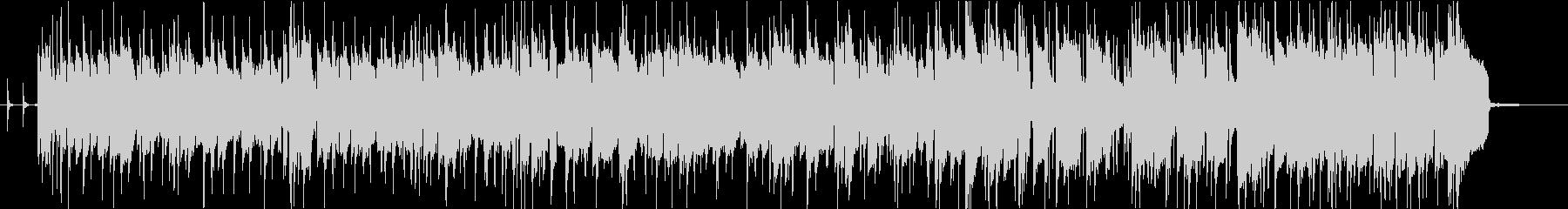ベースゴリゴリのFUNKバンドジングルの未再生の波形