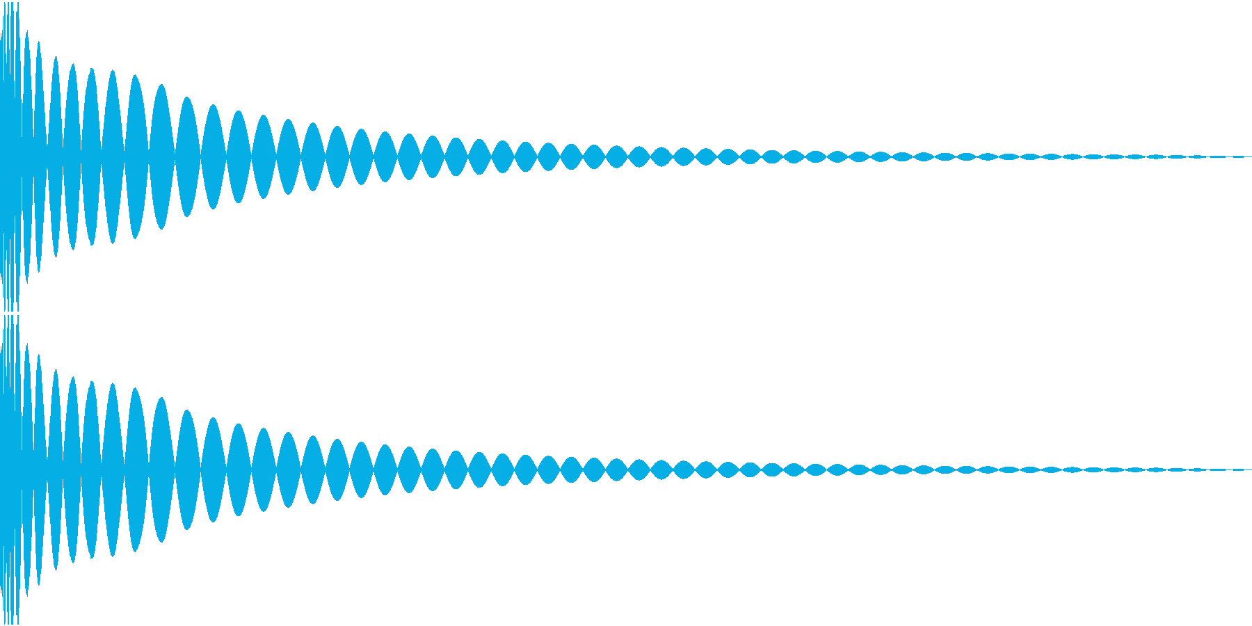 DTM Kick 74 オリジナル音源の再生済みの波形