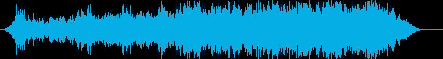 ダークで緊張感ある近未来エレクトリックの再生済みの波形