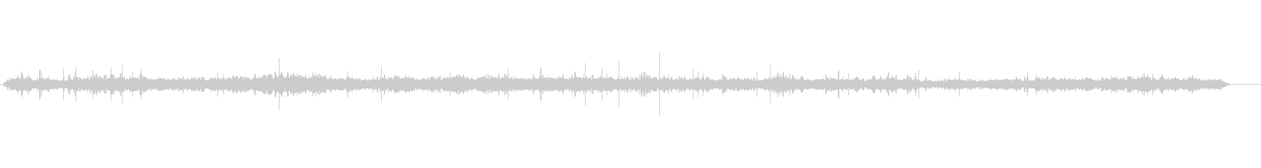 声のつぶやき0-30外の声のうわさの未再生の波形