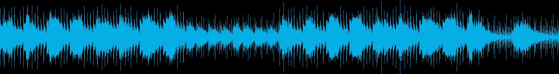 浮遊感・おしゃれ・ループジングルの再生済みの波形