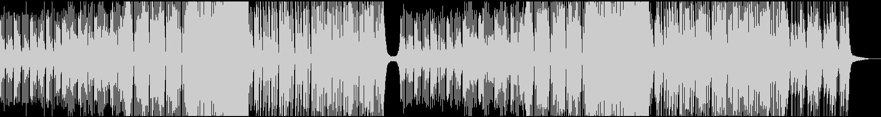 夏祭りっぽい雰囲気Future Bassの未再生の波形