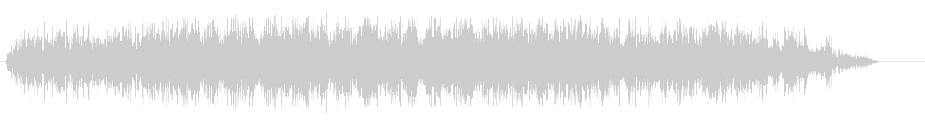 シャァ(キリキリ音)の未再生の波形