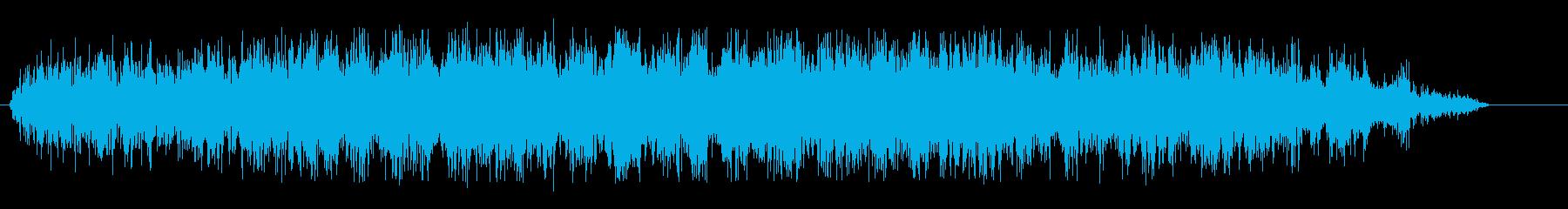 シャァ(キリキリ音)の再生済みの波形