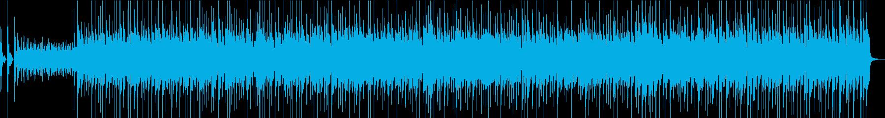 秒数ジャスト・ロッキー風筋トレ動画BGMの再生済みの波形