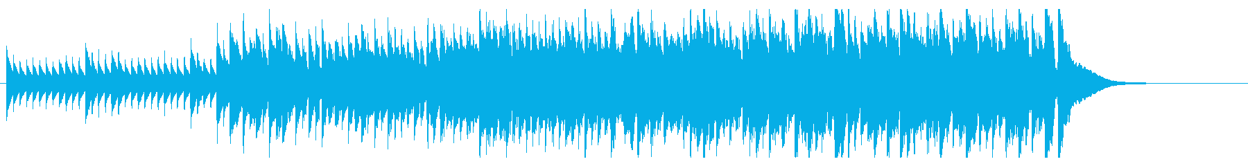 カリンバ(チェレスタ)が時を刻むBGM☆の再生済みの波形