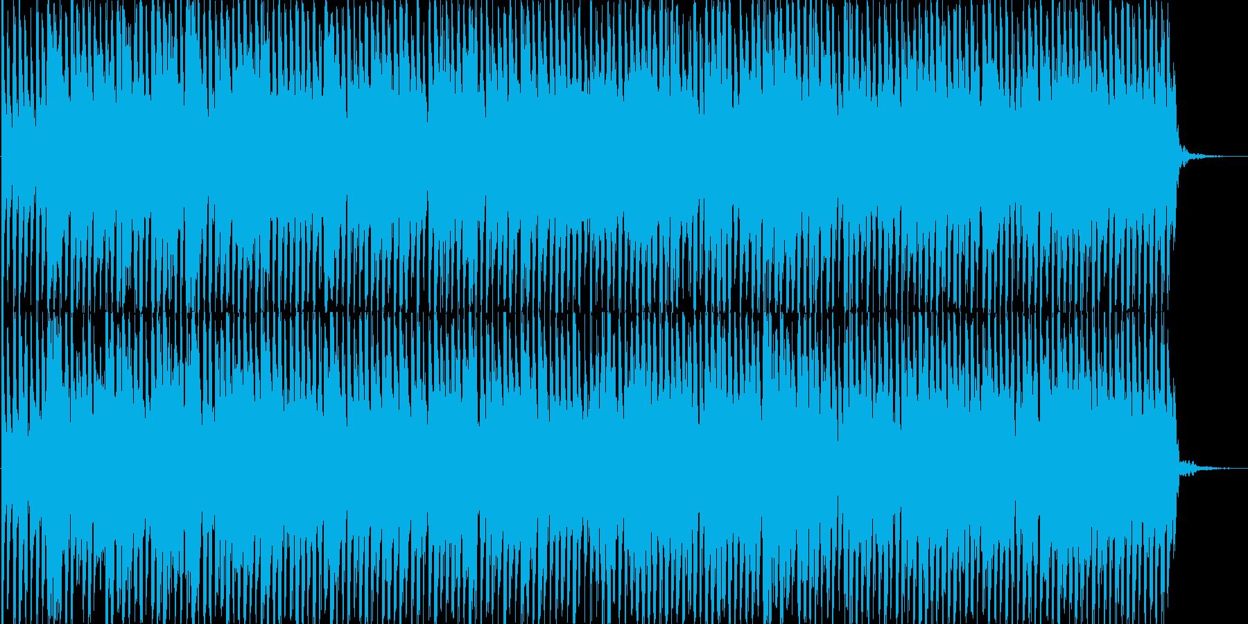 ファミコンゲーム風BGMの再生済みの波形