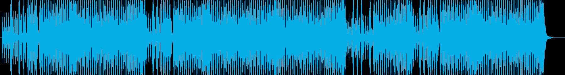EDM版 アルプス一万尺の再生済みの波形