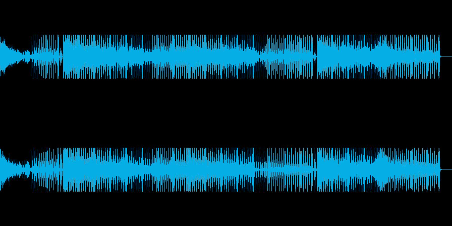 【パターン2】明るく元気なテクノポップの再生済みの波形