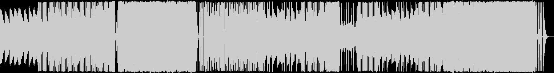 エレクトロ風EDMポップの未再生の波形