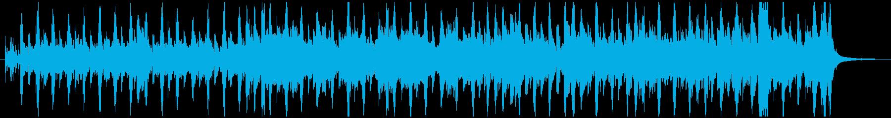 少し暗めなコミカル曲、ハロウィンにも可の再生済みの波形