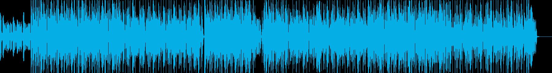 ボコーダーを使ったエレクトロポップの再生済みの波形