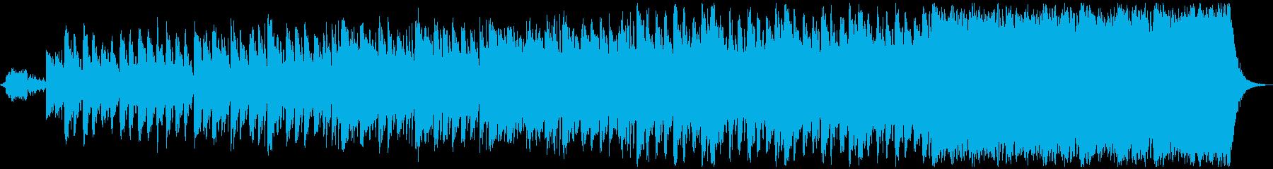 不気味な、怖いハロウィーン音楽は不吉な休の再生済みの波形