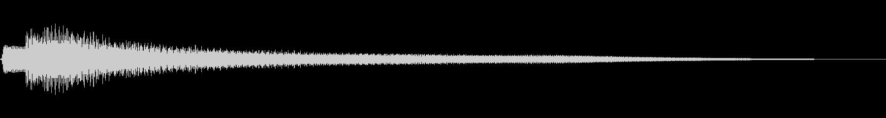 不思議な響きのコードの未再生の波形