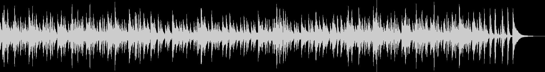 お洒落でキャッチ―なジャズピアノトリオ4の未再生の波形