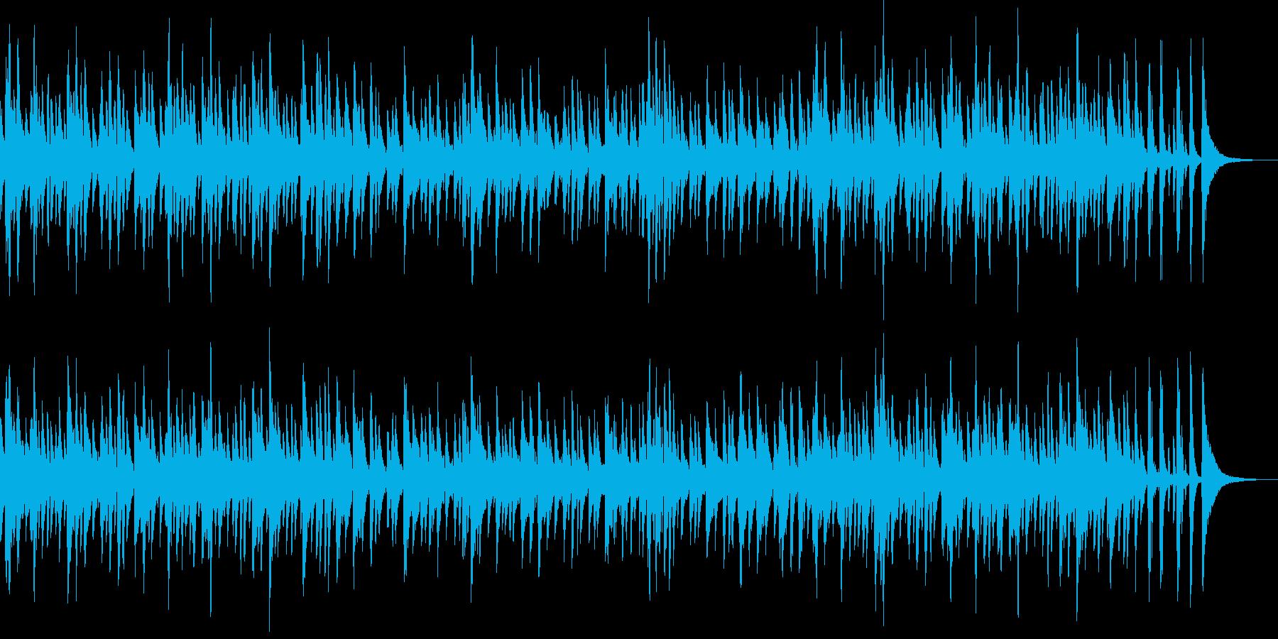 お洒落でキャッチ―なジャズピアノトリオ4の再生済みの波形