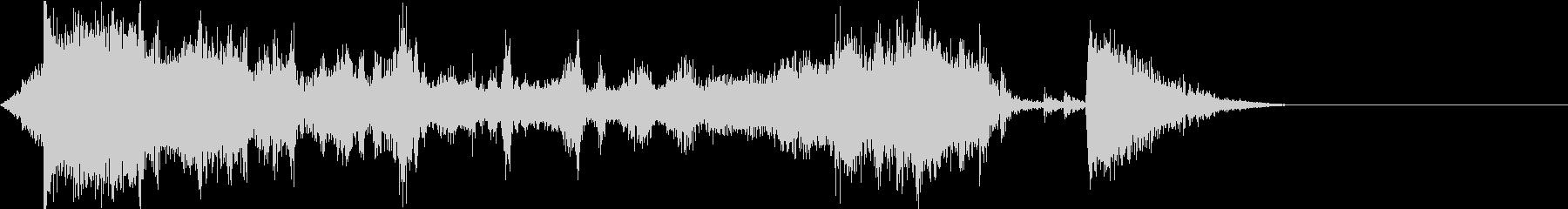 FMラジオ的ジングル6の未再生の波形