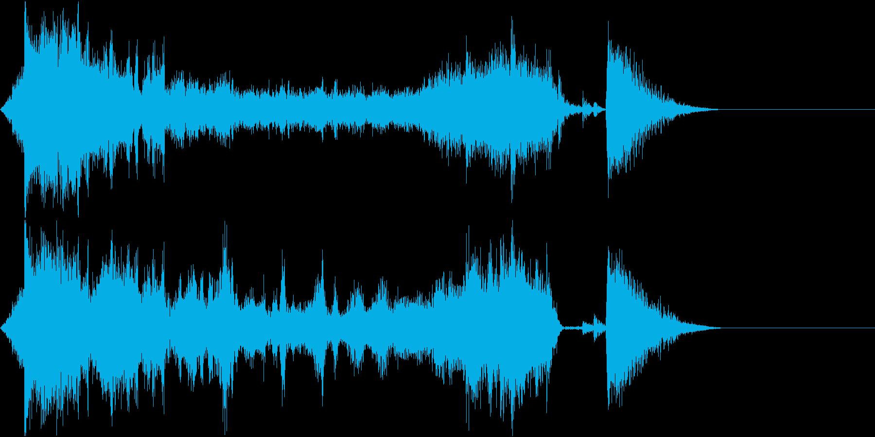 FMラジオ的ジングル6の再生済みの波形