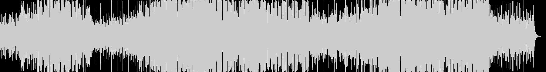 シンプルでメロディックなEDMの未再生の波形