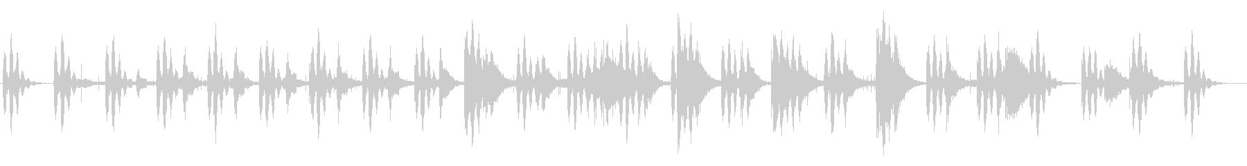 王道の太鼓サスペンス曲の未再生の波形