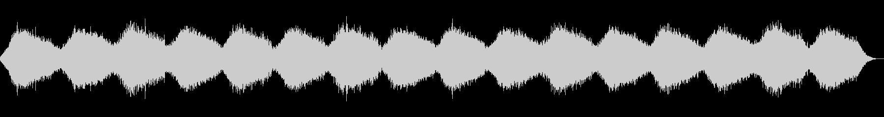 鐘の音が印象的なヒーリング・アンビエントの未再生の波形