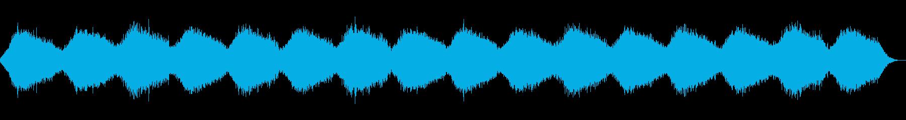 鐘の音が印象的なヒーリング・アンビエントの再生済みの波形