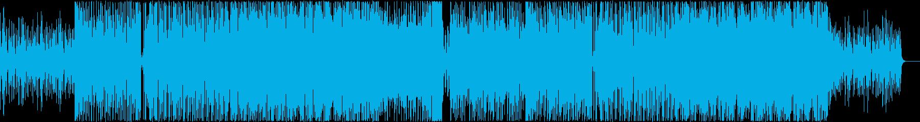 EDM系 キャッチーでノリが良い曲 -8の再生済みの波形