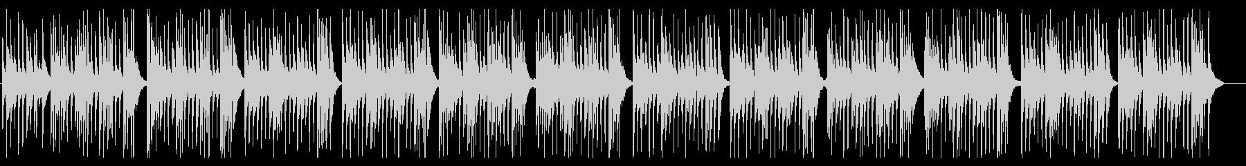 バロック調のウクレレのワルツです。の未再生の波形
