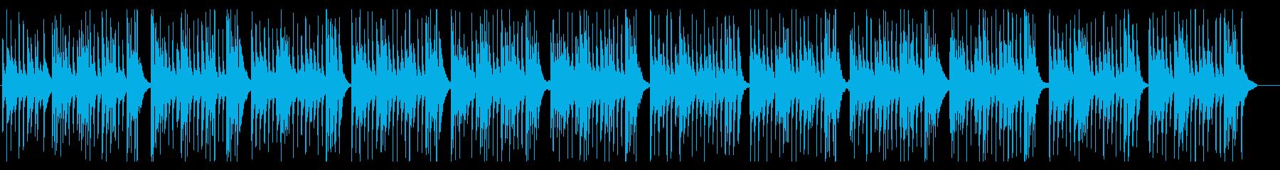 バロック調のウクレレのワルツです。の再生済みの波形