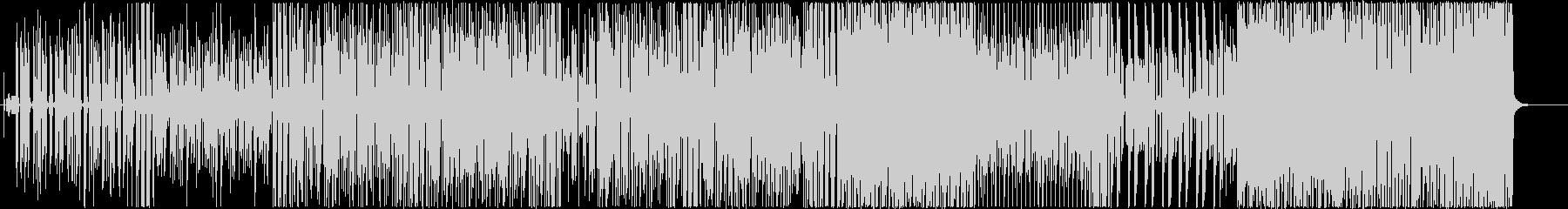 かいじゅうファンクの未再生の波形