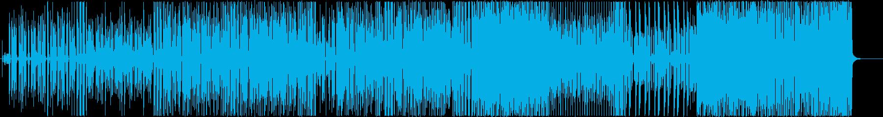 かいじゅうファンクの再生済みの波形