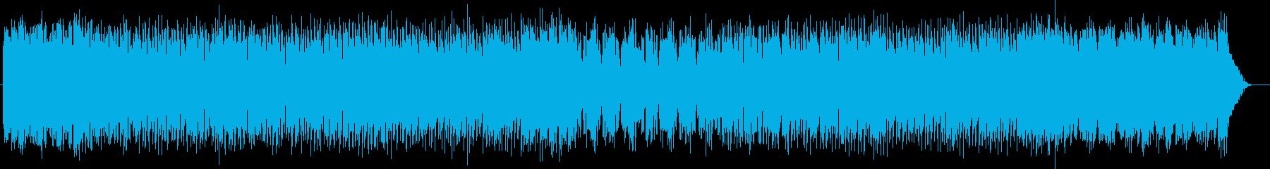 メルヘンチックなシンセポップスの再生済みの波形