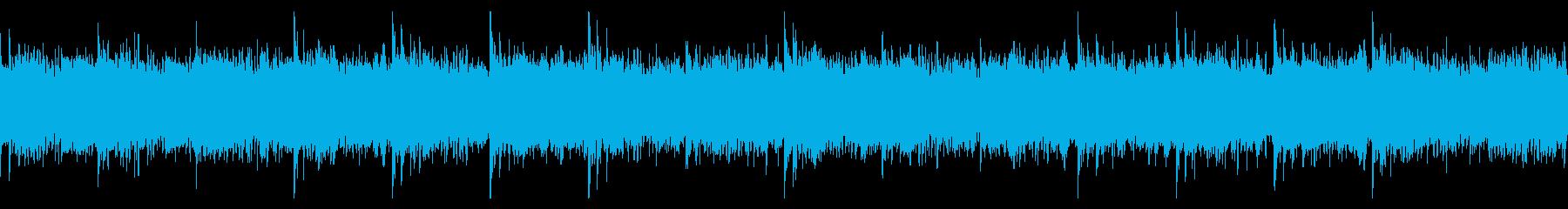 ループ仕様・ニュースや科学番組用の再生済みの波形