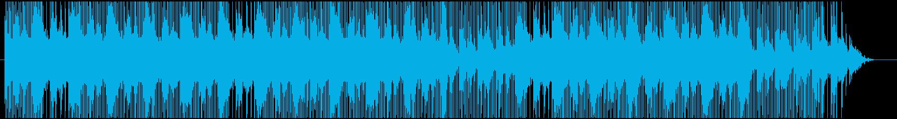 軽快なトラップサウンドの再生済みの波形