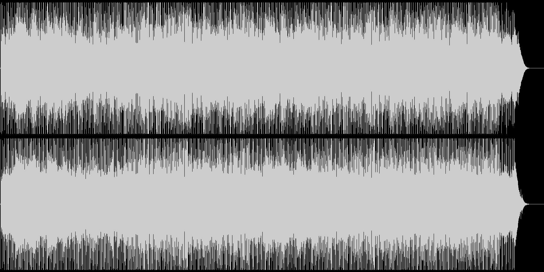 企業VPや映像に 爽やかなピアノの共鳴の未再生の波形