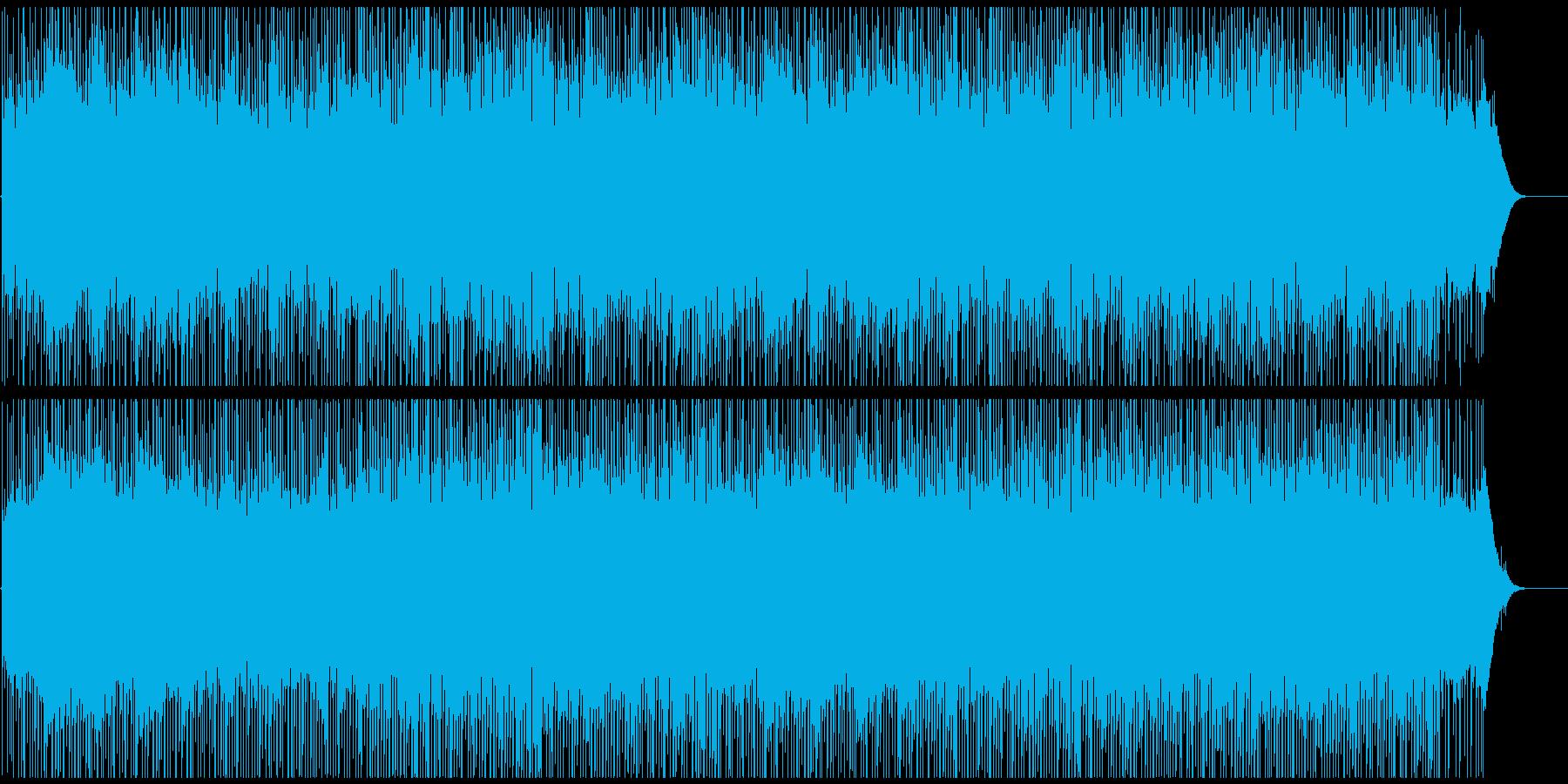 企業VPや映像に 爽やかなピアノの共鳴の再生済みの波形