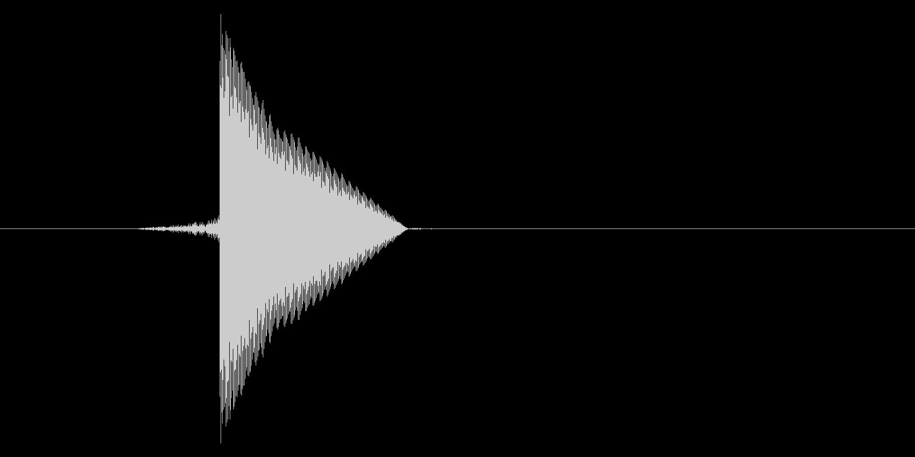 ゲーム(ファミコン風)ピックアップ音_…の未再生の波形