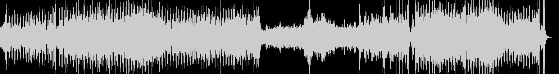 アジア民族音楽的旋律の勇壮なインスト音楽の未再生の波形