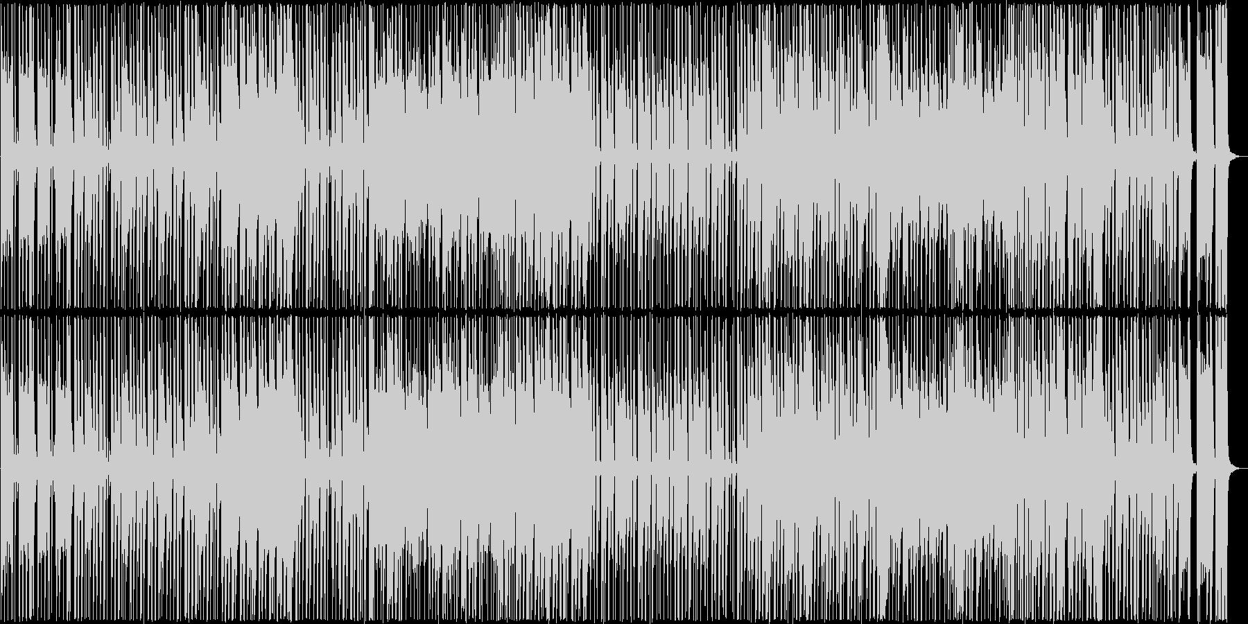 パワフルでグルーヴィーなサウンドの未再生の波形