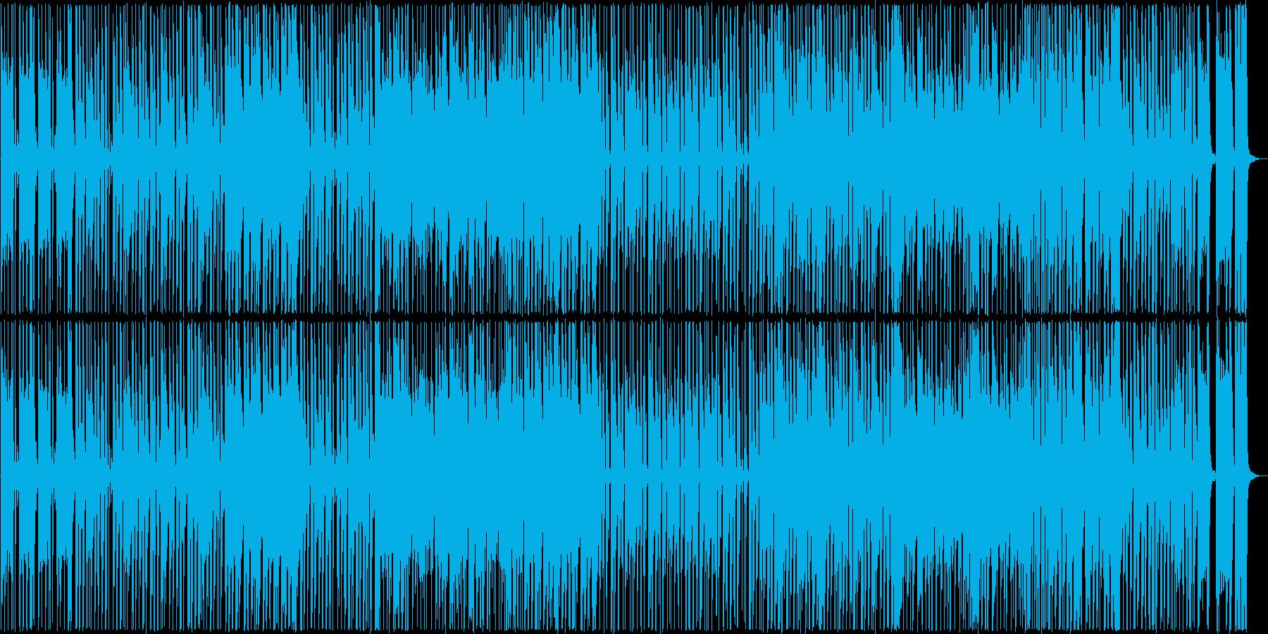 パワフルでグルーヴィーなサウンドの再生済みの波形