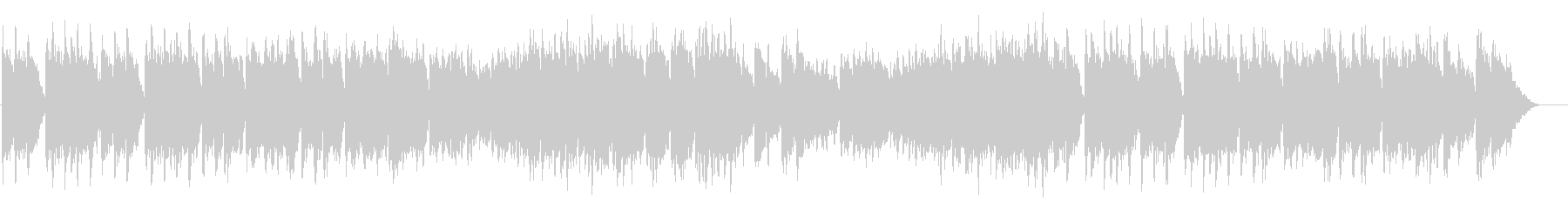 Wedding song style BGM luxurious and solemn's unreproduced waveform