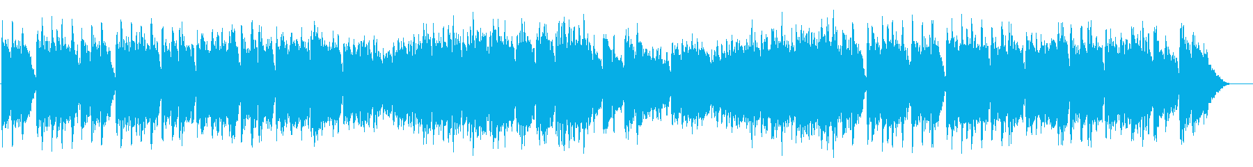 豪華で厳かなウエディングソング風BGMの再生済みの波形