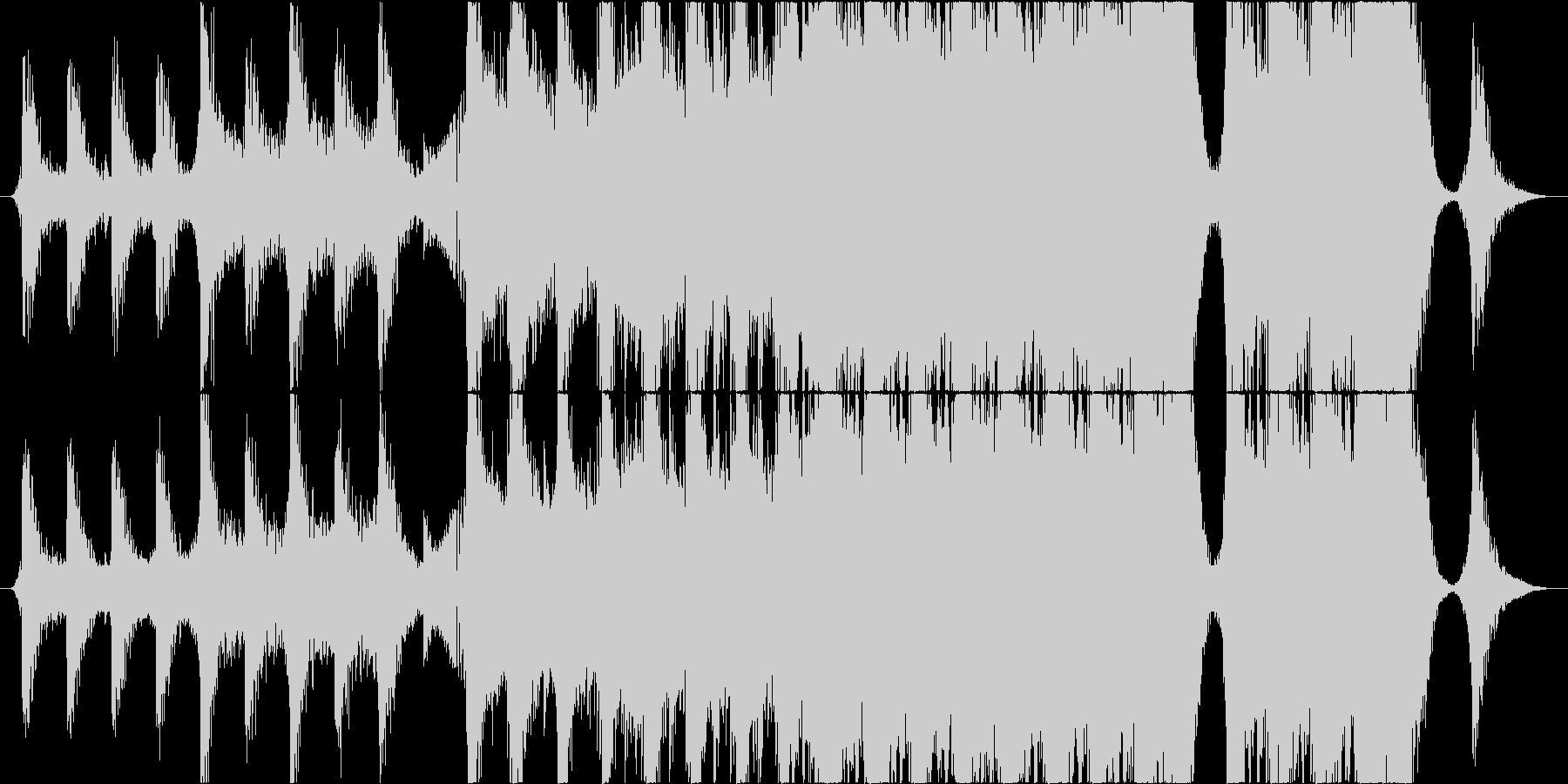 Cinematic Orchestralの未再生の波形
