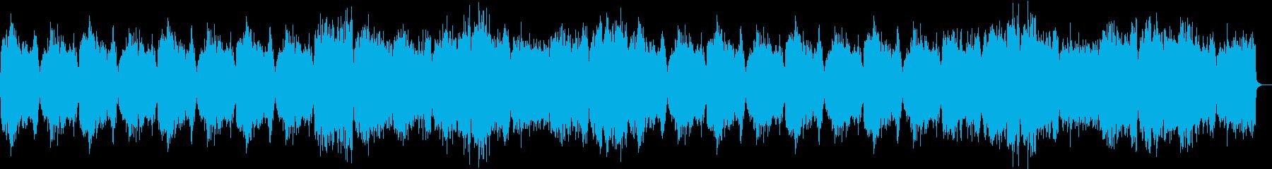 近未来的テクスチャー・緊張感閉鎖的閉塞感の再生済みの波形