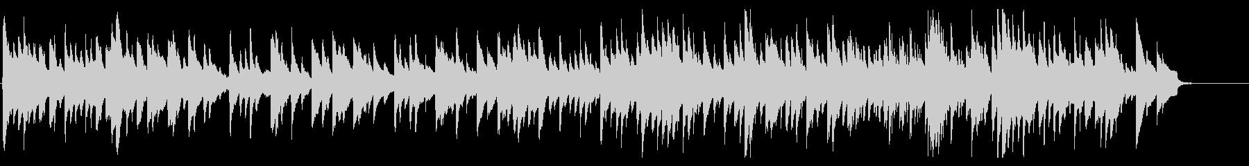 アコギでカノン・パッヘルベルのカノンの未再生の波形