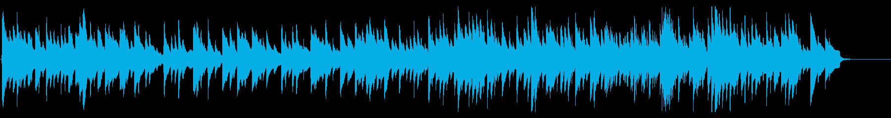 アコギでカノン・パッヘルベルのカノンの再生済みの波形