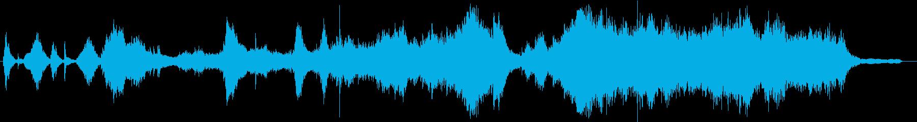 生演奏!ピアノホラーなアンビエントの再生済みの波形