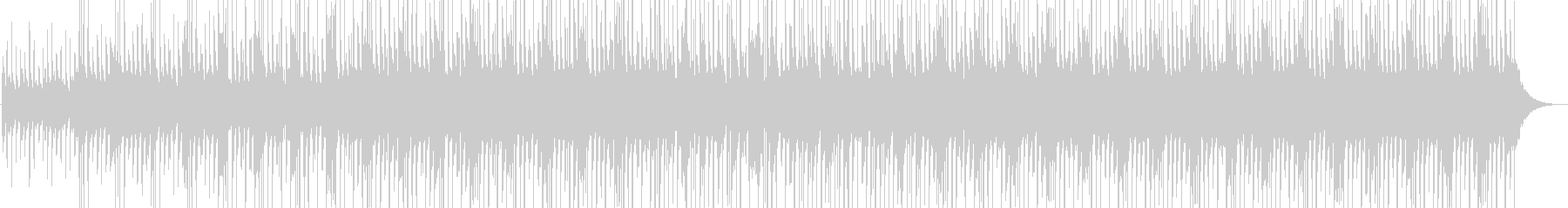 Funny musicの未再生の波形