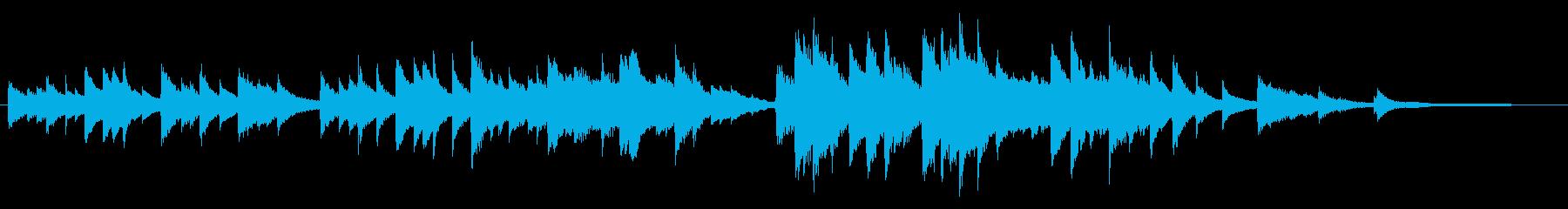 しっとり静かなピアノソロの再生済みの波形