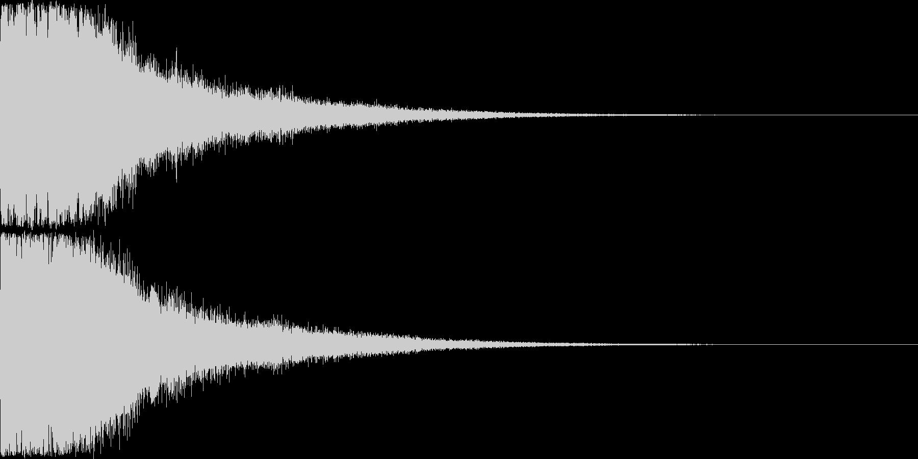 刀 剣 ソード カキーン キュイーン28の未再生の波形